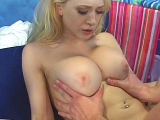 Staggering lickerish blonde skirt getting face fucked and loving it