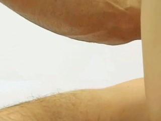 Girlfriend watching boyfriend having sexy sex