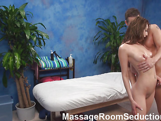 Oh, fuck, just look at the hottie that is acquiring nailed in this scene and u would desire to be on place of the favourable male that is rendering it! Cutie lies nude on a massage table, gets massaged and fucked then.
