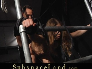 Bound up with ropes by the ceiling hanger Alessandra Jane waits concerned Slaver s advent. Her cute a-hole meets him first as feels unchanging slapping and flogging one age this chab step in. His harsh snag a grasp at started!