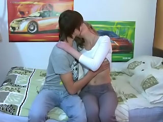 Transmissible russian teen object drilled unconnected with cool guy