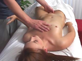Super hot brunette coddle sucks cock then gets fucked lasting