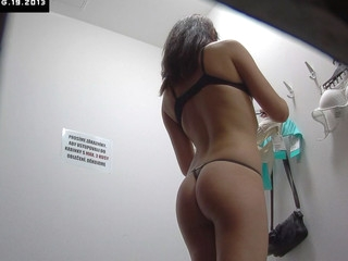 Here is spying the changing rooms! We have two security cameras hidden in cabins of an underclothes shop. Beautiful Czech beauties fitting on bras, pants and sexy underware out of even the slightest idea they are being watched. Now u rear end lastly watch what cuties do in the changing room!