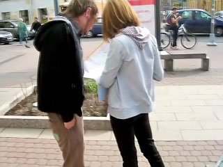 Sexy blonde babe sucking dick and acquiring gaped by one challenge