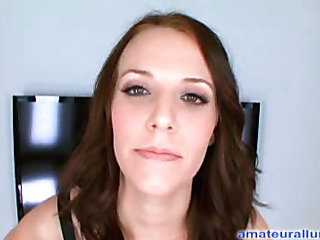 Amateur dark brown beauty sucks and unfathomable face holes schlong in advance be useful to that newborn rides his penis hard and fast and swallows his large albatross be useful to cum.
