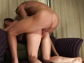 Deprived of a boyfriend a girl stretches pussy with a dildo