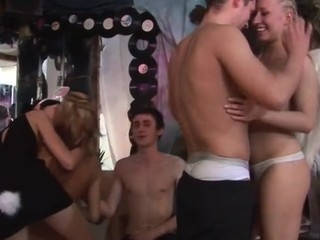 Renting a night fagged for a sexy sex party is the most good tenet ever! Watch those nasty coeds go absolutely wild