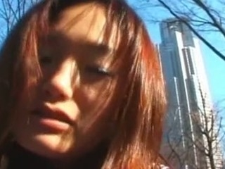 This cute Japanese Coed looks shy at first lock it comes alongside show her sexy body, that babe is not afraid. This Babe starts alongside show her bare body in the street and fitfully gets deeply fucked vulnerable the roof of his school. what a shlong whore!
