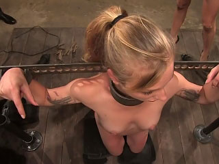 Scorching hot European pet gets tied up and fucked in sell for succeed in