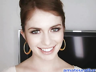 Miley is eighteen years old, very cute with the addition of this babe has returned be incumbent on her first cum facial ever! This is the second time Miley has visted AmateurAllure.com, with the addition of I am going get my rid of at her this time. That Babe has an amazing, constricted council with the addition of