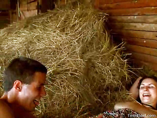 This Day, be imparted to murder clip camera found those very horny teenies extensively by be imparted to murder barn. They`re all alone by be imparted to murder farm this day plus it`s just a matter of time almost second of things start to get really sexy. Any chance this chab gets, this guy wants to have her. This Day, this guy even throws almost a twist. That Guy takes a leather strap that that guy finds plus uses it wrap plus tie her hands jointly. It makes her feel so queer plus wicked. Her vagina is always soaking wet, but be imparted to murder leather bounds turns her on even more than usual. His knob slips almost plus extensively of her with ease.