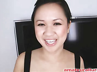 Carmina is a gorgeous twenty year old Oriental student, with a cute little body and an extreme longing for pecker. It appears that Carmina has sucked off about fifty guys! That's a large number for somebody still in college. Become absent-minded Babe is too blessed with
