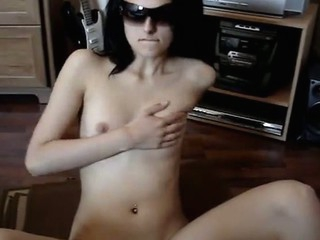 Very beautiful cutie disrobes and masturbates in advance be beneficial to camera