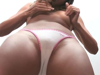 Super cute Oriental chick fucked in her sexy sexy pants !